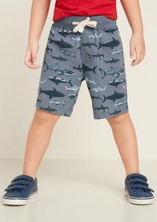 Old Navy Jersey Functional-Drawstring Jogger Shorts for Toddler Boys