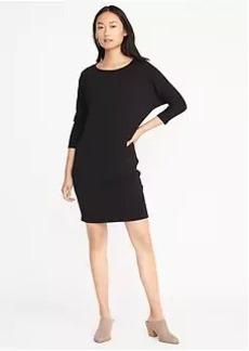 Jersey-Knit Shift Dress for Women