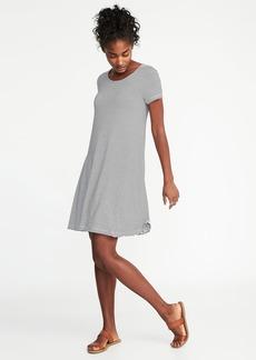 Jersey-Knit Swing Dress for Women