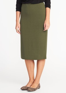 Old Navy Jersey Pencil Midi Skirt for Women