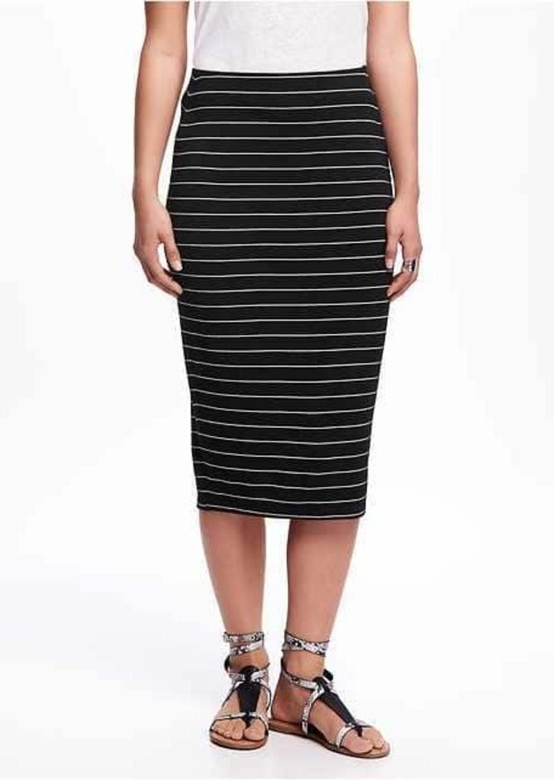 navy jersey pencil skirt dress ala