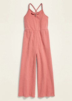 Old Navy Jersey Smocked-Back Cami Jumpsuit for Girls