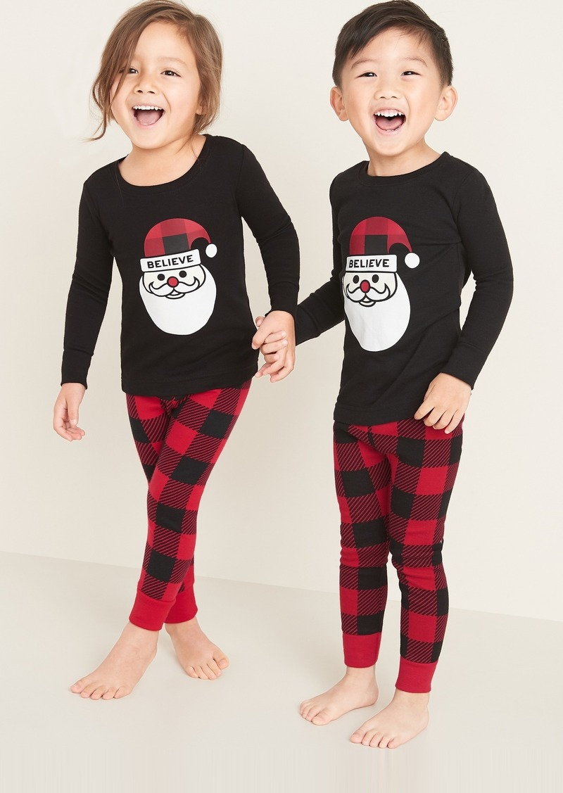 Old Navy Jingle Jammies Pajama Set for Toddler & Baby
