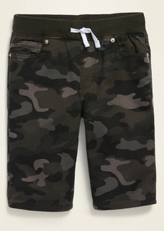 Old Navy Karate Built-In Tough Rib-Waist Twill Shorts for Boys