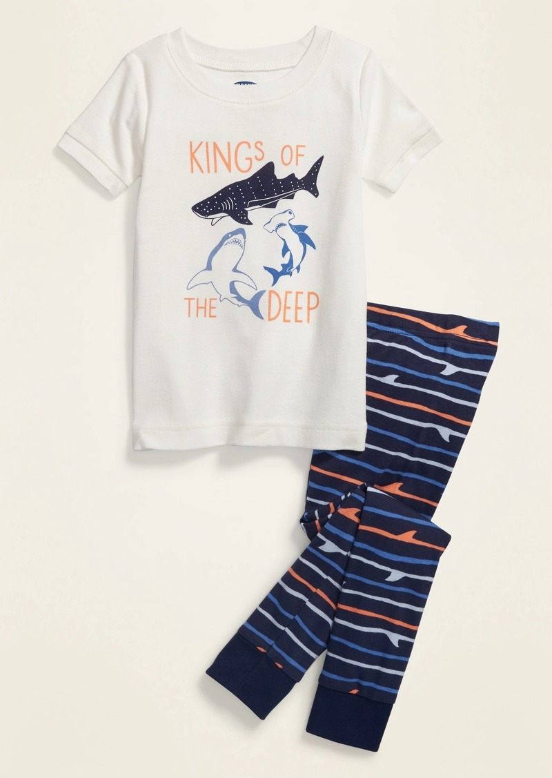 "Old Navy ""Kings of the Deep"" Pajama Set for Toddler & Baby"