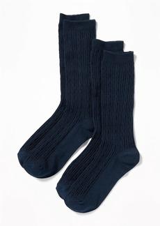 Old Navy Knee-High Uniform Socks 2-Pack for Girls