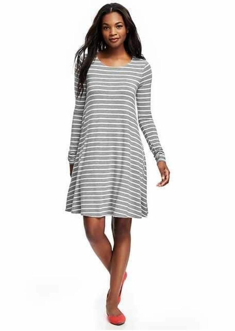 6b275a9b5c9bd Old Navy Knit Swing Dress for Women | Dresses