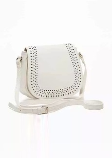 Old Navy Laser-Cut Mini-Saddle Bag for Women