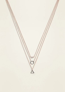 Old Navy Layered Charm Necklace for Women