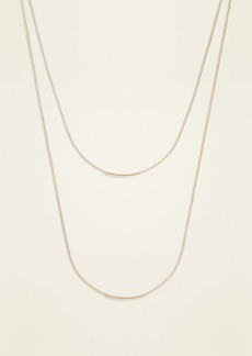Old Navy Layered Gold-Toned Metal Cord Necklace