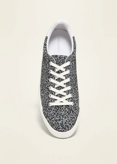 Old Navy Leopard-Print Court Sneakers for Women