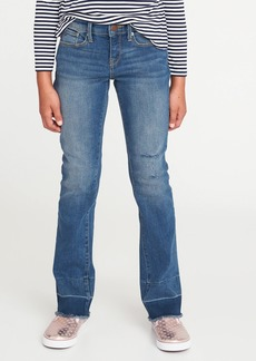 Old Navy Let-Down Hem Boot-Cut Jeans for Girls