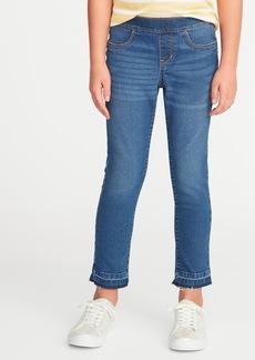 Old Navy Let-Down Hem Pull-On Crop Skinny Jeans for Girls
