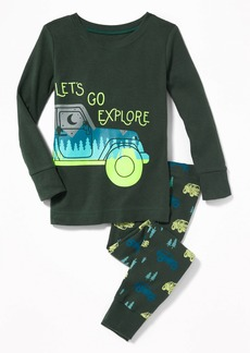 """Old Navy """"Let's Go Explore"""" Sleep Set for Toddler Boys & Baby"""