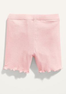 Old Navy Lettuce-Edged Biker Shorts for Toddler Girls