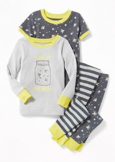 """Old Navy """"Light Up the Night"""" 4-Piece Sleep Set for Toddler Boys & Baby"""