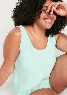 Old Navy Lightweight Textured-Knit Plus-Size Lounge Tank Top