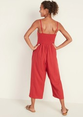 Old Navy Linen-Blend Cami Jumpsuit for Women