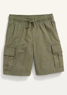 Old Navy Linen-Blend Cargo Shorts for Boys