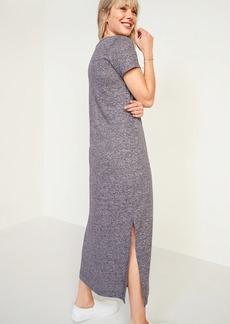 Old Navy Linen-Blend Maxi T-Shirt Shift Dress for Women