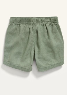 Old Navy Linen-Blend Pull-On Shorts for Baby