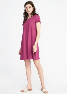 Old Navy Linen-Blend Swing Dress for Women