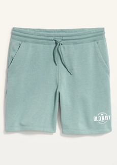 Old Navy Logo-Graphic Gender-Neutral Jogger Shorts for Adults --7.5-inch inseam