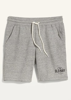 Old Navy Logo-Graphic Jogger Sweat Shorts for Men -- 7.5-inch inseam