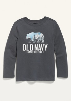 Old Navy Unisex Logo-Graphic Long-Sleeve Tee for Toddler
