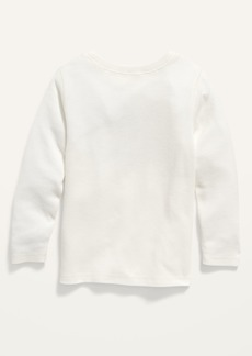 Old Navy Logo-Graphic Long-Sleeve Thermal Tee for Toddler Boys