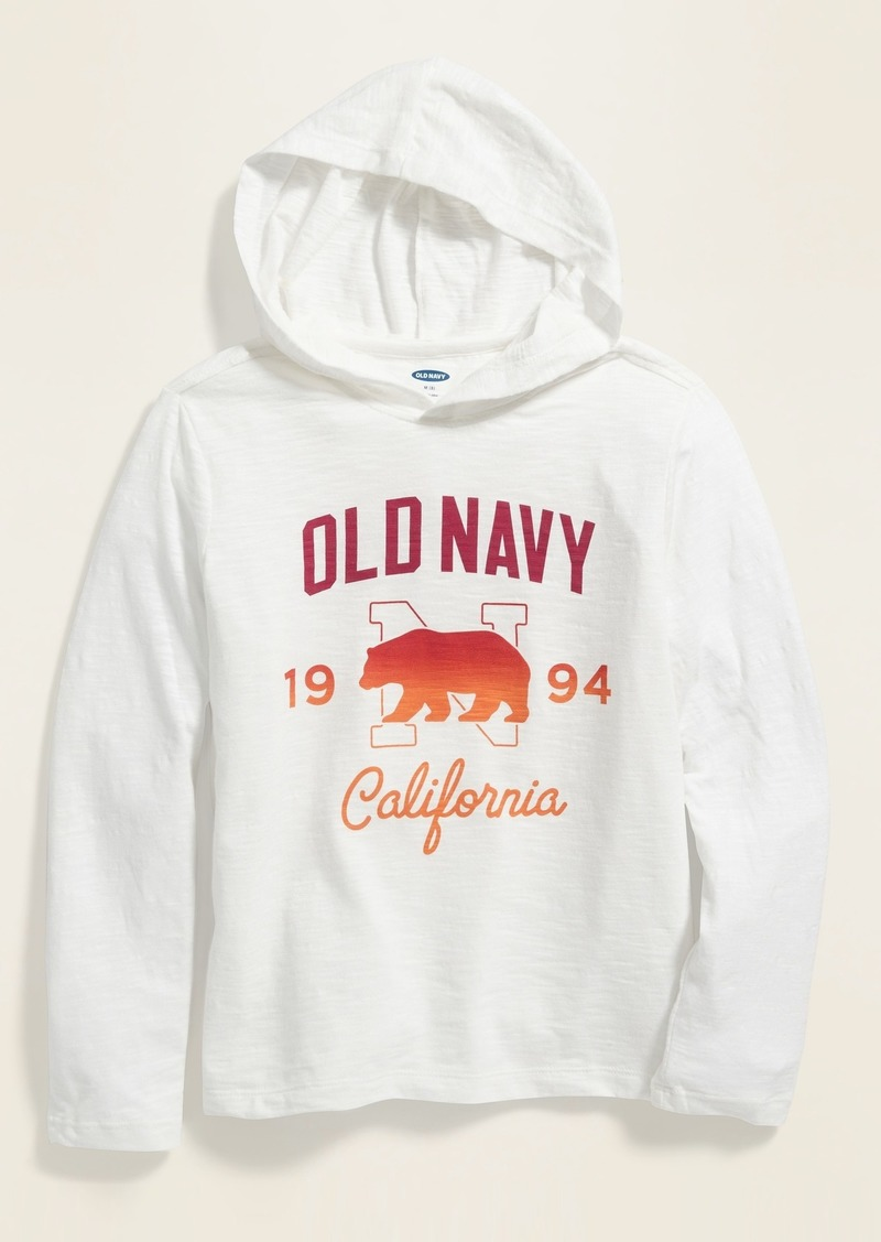 Old Navy Logo-Graphic Tee Hoodie for Boys