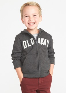 Old Navy Logo-Graphic Zip Hoodie for Toddler Boys