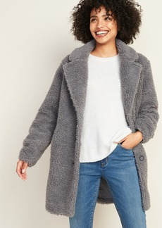 Old Navy Sherpa Teddy Coat for Women