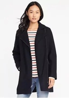Long Moto Jacket for Women