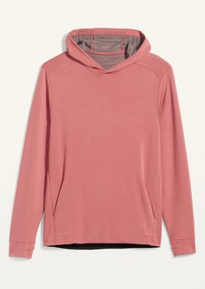 Old Navy Loop-Terry 4-Way Stretch Pullover Hoodie for Men