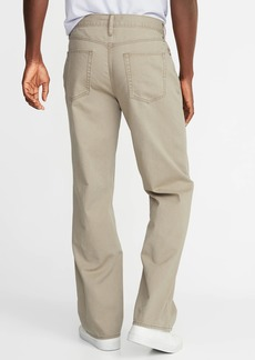 Old Navy Loose Twill Five-Pocket Pants For Men