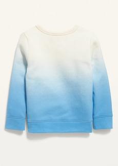 Old Navy Unisex Love Graphic Dip-Dye Sweatshirt for Toddler