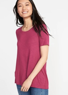 Old Navy Luxe Boat-Neck Swing Tee for Women