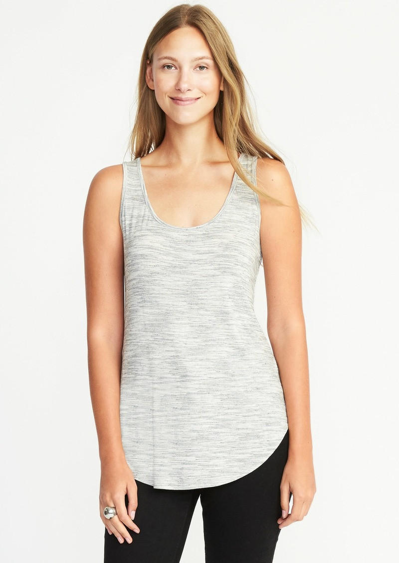 22f6aaa8f6f5b2 Old Navy Luxe Curved-Hem Scoop-Neck Tank for Women