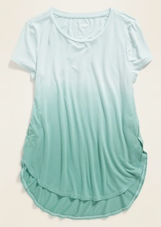 Old Navy Luxe Dip-Dye Tulip-Hem Tunic for Girls