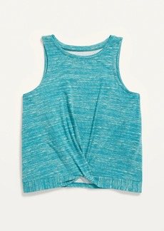 Old Navy Luxe Sleeveless Twist-Front Top for Girls