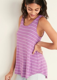 403264cb17 Old Navy Relaxed Striped Curved-Hem Tee for Women | Tees