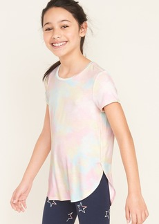 Old Navy Luxe Tulip-Hem Jersey Tee for Girls