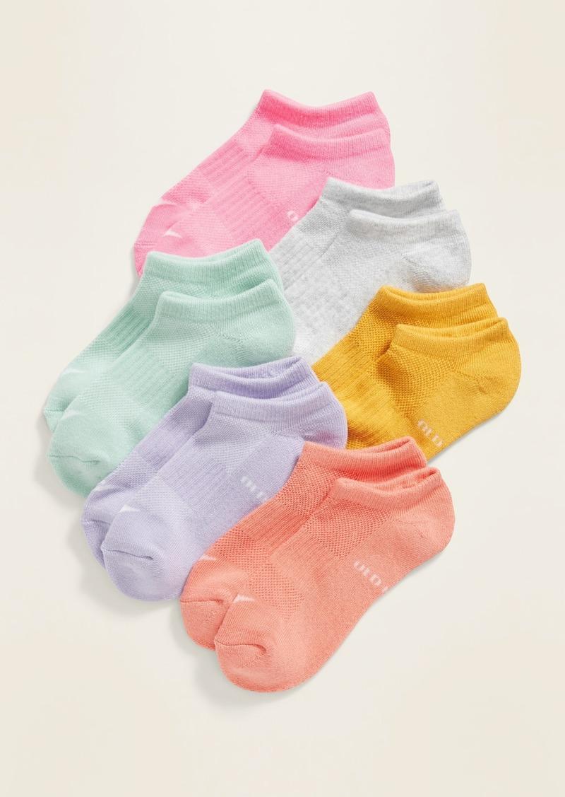 Old Navy Mesh Ankle Socks 6-Pack for Girls