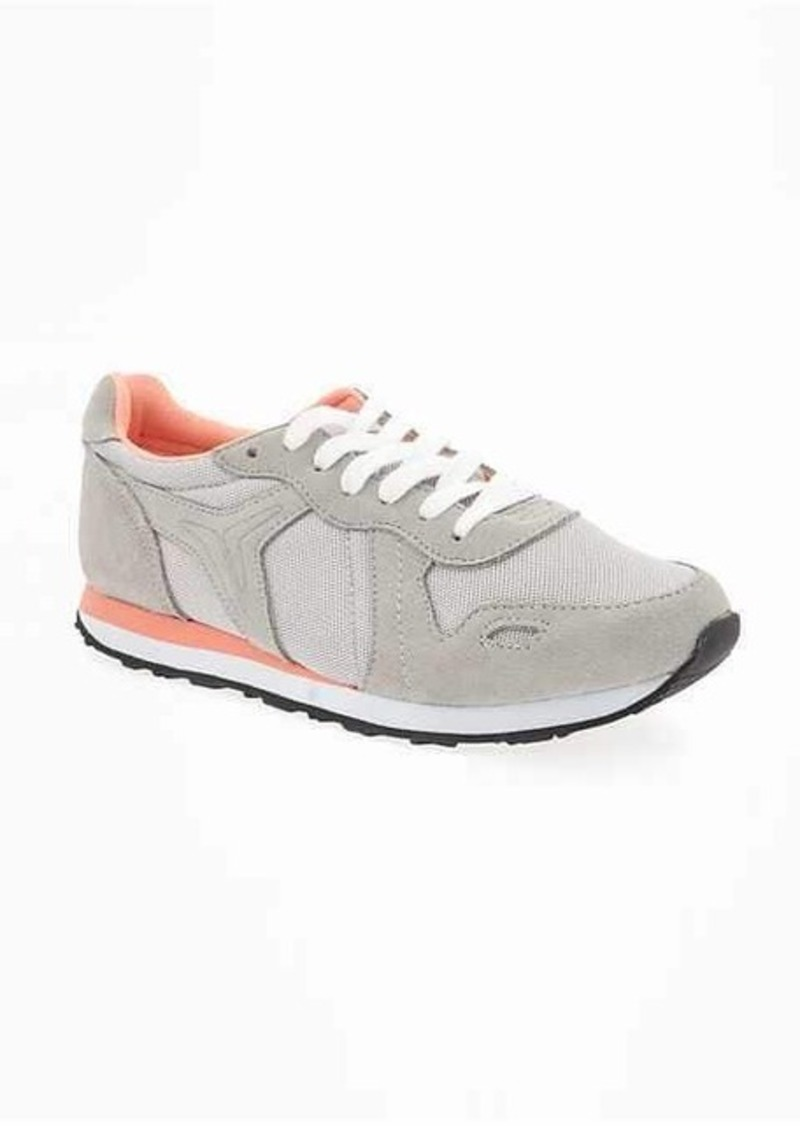 Old Navy Mesh-Panel Performance Sneakers for Women