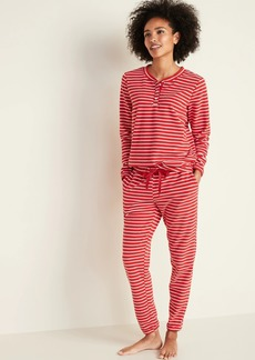 Old Navy Micro Performance Fleece Pajama Set for Women