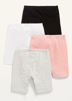 Old Navy Mid-Length Biker Shorts 4-Pack for Toddler Girls