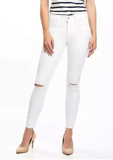 Mid-Rise Built-In Sculpt Rockstar Released Hem Ankle Jeans for Women