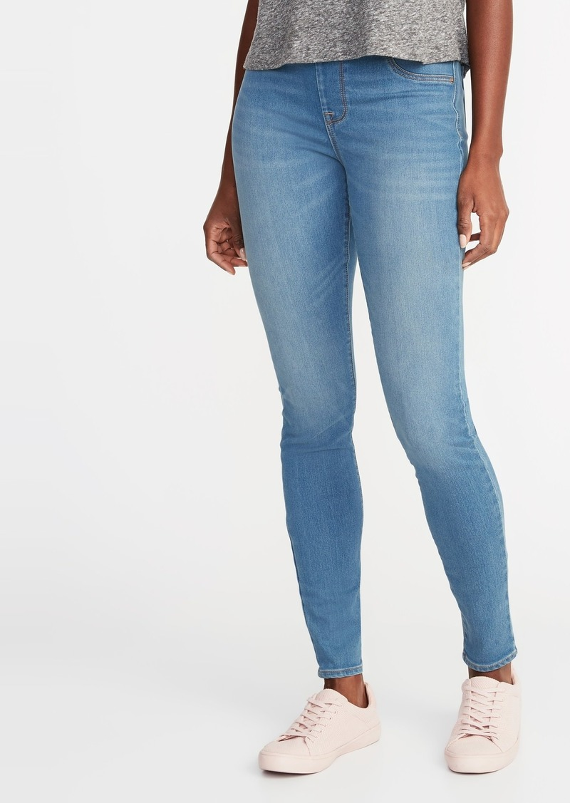 0fa941f19e3e9 On Sale today! Old Navy Mid-Rise Built-In Warm Rockstar Jeggings for ...