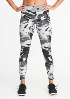 Old Navy Mid-Rise Camo Compression 7/8-Length Leggings for Women
